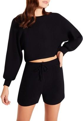 Steve Madden Lounge Shorts Set Black