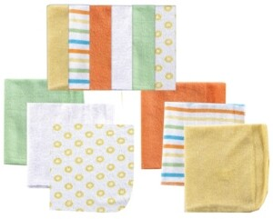 Luvable Friends Washcloths, 12-Pack, One Size