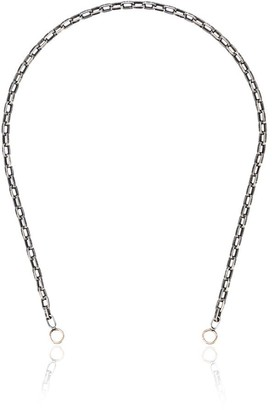 Marla Aaron 14kt Rose Gold And Sterling Silver 14 Inch Biker Chain