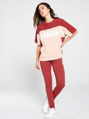 adidas Logo Tights - Red
