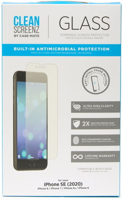 Case-Mate Standard Glass Screen Protecter iPhone 8, 7, 6, & 6S