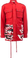 Faith Connexion printed military style jacket - men - Cotton - M