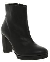 Won Hundred Hydro Platform Ankle Boots - Black