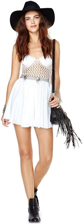 Nasty Gal Indah Endless Days Crochet Dress