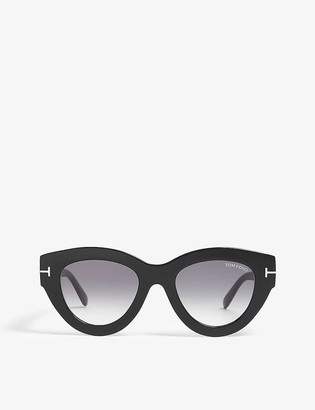 Tom Ford Slater cat eye-frame acetate sunglasses