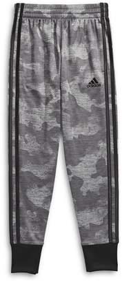 adidas Boy's Camo-Print Pull-On Pants