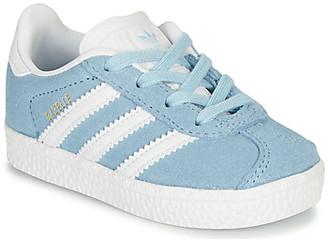 adidas GAZELLE I girls's Shoes (Trainers) in Blue