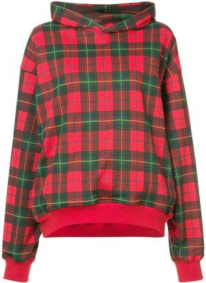 Fear Of God plaid hoodie