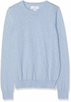 Meraki Women's Cotton Crew Neck Sweater
