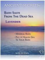 Ancient Secrets Bath Salts From The Dead Sea, Lavender, 16 Ounce