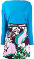 Emilio Pucci Multicoloured Printed Dress