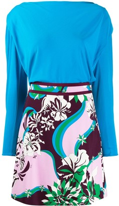 Emilio Pucci Multicoloured Printed Dress