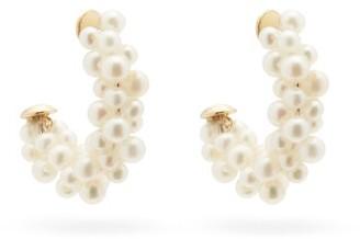 Yvonne Léon Lady Pearl 18kt Gold Earrings - Pearl