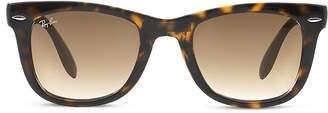 Ray-Ban Unisex Folding Wayfarer Sunglasses, 50mm