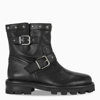Jimmy Choo Black Youth ankle boots