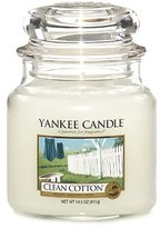 Yankee Candle Medium Clean Cotton Jar Candle 1010729