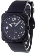Bell & Ross 'BR S Quartz Black' analog watch