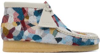Clarks Multicolor Patchwork Wallabee Desert Boots