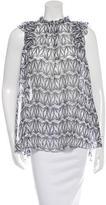 Thomas Wylde Printed Silk Top w/ Tags