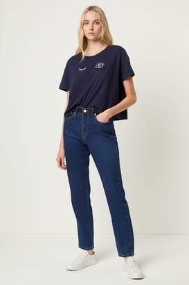 French Connenction Leona Denim High Waisted Jeans
