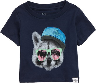 Kid Dangerous Raccoon Shades Graphic T-Shirt