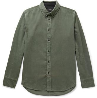 Rag & Bone Tomlin Fit 2 Slim-Fit Button-Down Collar Cotton-Corduroy Shirt