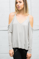 Joah Brown - Swagger Long Sleeve Tee In Stone