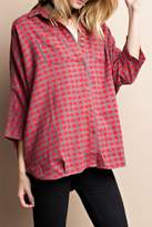 Easel Boxy Button Down