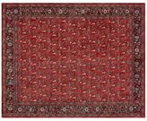 Pottery Barn Brooks Printed Rug - Red Multi