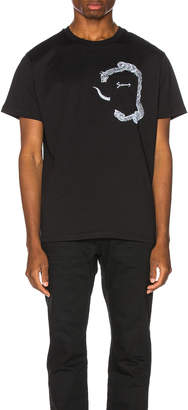 Givenchy Snake Pocket Tee in Black | FWRD