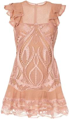 Jonathan Simkhai embroidered mini dress