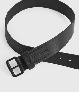 AllSaints Dunston Leather Belt