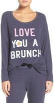 Junk Food Clothing Women's Love You A Brunch Hacci Sweatshirt
