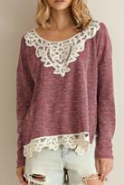 Entro Crochet Lace Top