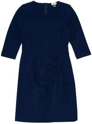 Issa Navy Viscose Dresses