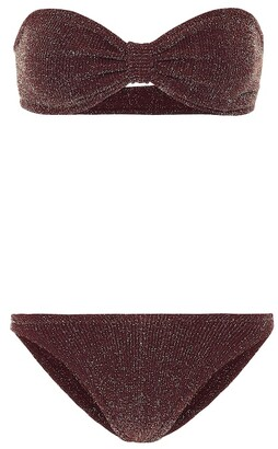Hunza G Exclusive to Mytheresa Jean bandeau bikini