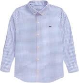 Vineyard Vines Check Button-Down Performance Shirt