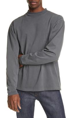 John Elliott Mock Neck Long Sleeve T-Shirt