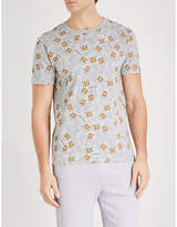 Moschino Teddy-print stretch-cotton T-shirt