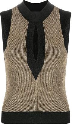 Just Cavalli Knitted Sleeveless Top