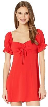 Show Me Your Mumu Della Mini Dress (Tango Red) Women's Dress