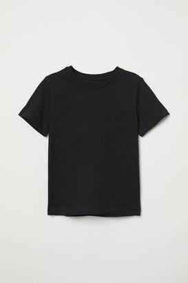 H&M Cotton T-shirt - Black
