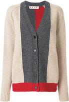 Marni colour blocked cardigan - women - Wool - 40