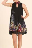 Umgee USA Lace Detailed Dress
