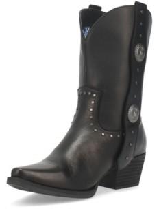Dingo Women's True West Leather Bootie Women's Shoes