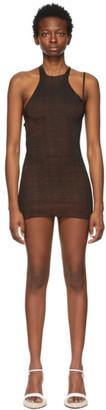Isa Boulder Black Mini Mini Dress