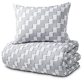 DKNY Pure Step Up Duvet Cover Set, Full/Queen
