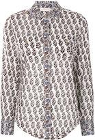 Tory Burch Guru Border print shirt - women - Cotton - 6