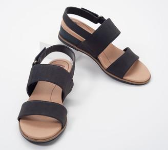 Dr. Scholl's Adjustable Wedge Sandals - Freeform