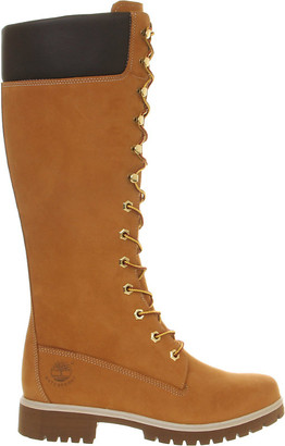 Timberland 14 inch premium nubuck leather boots